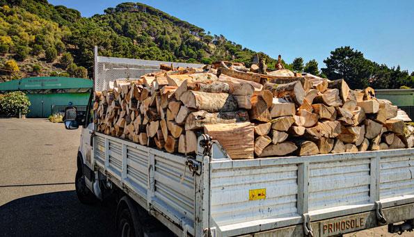 consegna legna da ardere catania