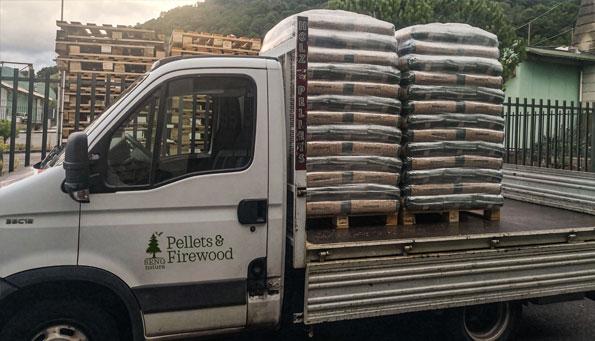 consegna pellet pedane catania