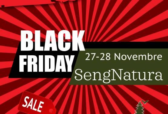 Black Friday SengNatura e il Pellet in offerta
